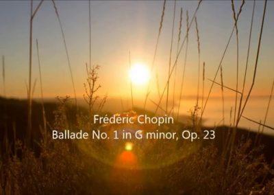 Chopin Ballade No  1 in G minor, Op  23