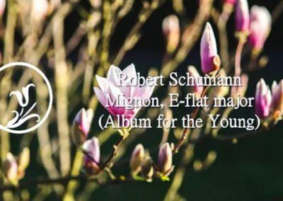 Robert Schumann – Mignon – Op. 68 No 35 E-flat major