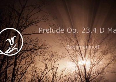Rachmaninoff – Prelude Op. 23.4 D Major