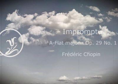Chopin Impromptu A Flat major Op 29 No 1