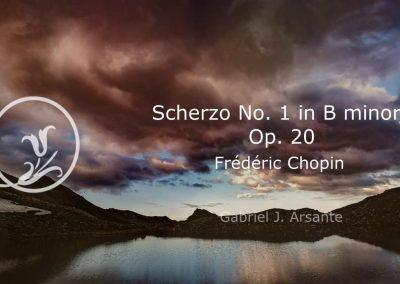 Scherzo No. 1 –  Frederic Chopin