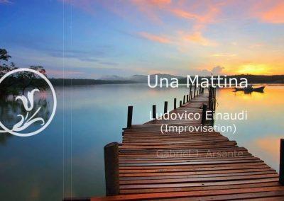 Una Mattina Ludovico Einaudi Improvisation