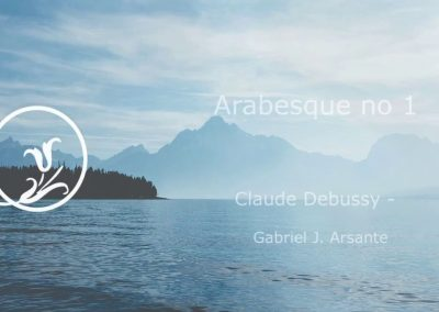 Arabesque no 1 Debussy